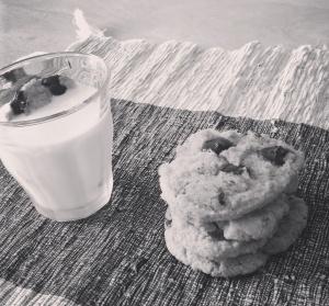 Chocolate Chip Cookies  (gluten/refined sugarfree)